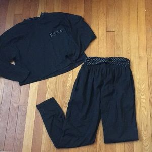 VTG 90s Cropped Sweater and Sweats